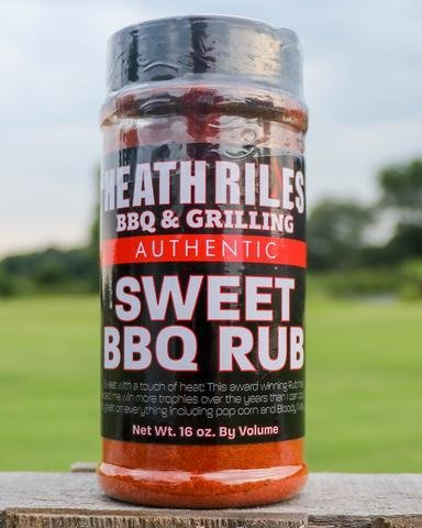 Heath Riles-BBQ Sweet Rub-16oz 0698902014876