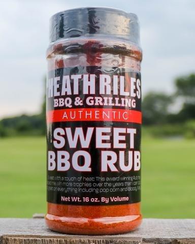 Heath Riles-BBQ Sweet Rub-16oz