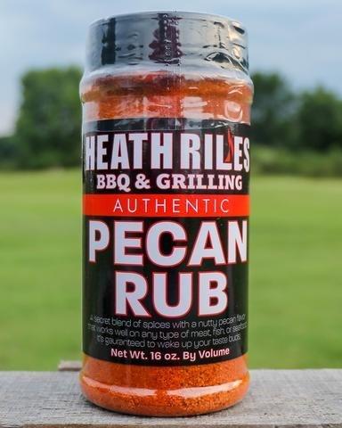 Heath Riles-BBQ Pecan Rub-16oz