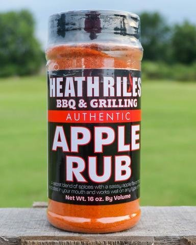 Heath Riles- BBQ Apple Rub-16oz 0698902014906