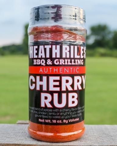 Heath Riles-BBQ Cherry Rub-16oz