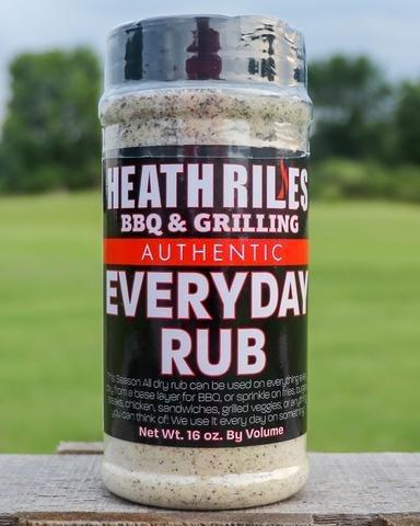 Heath Riles-BBQ Everyday Rub-16oz 0698902014937