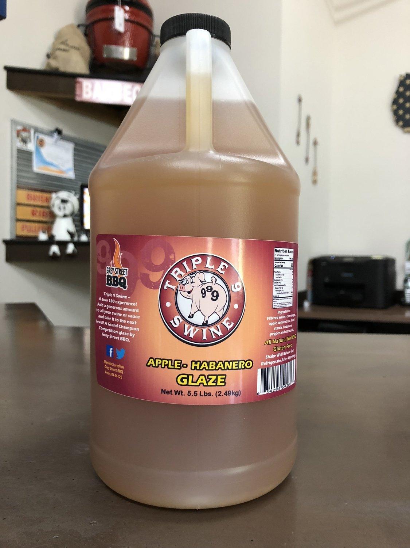 Triple 9 Swine-Apple Habanero Glaze half gallon