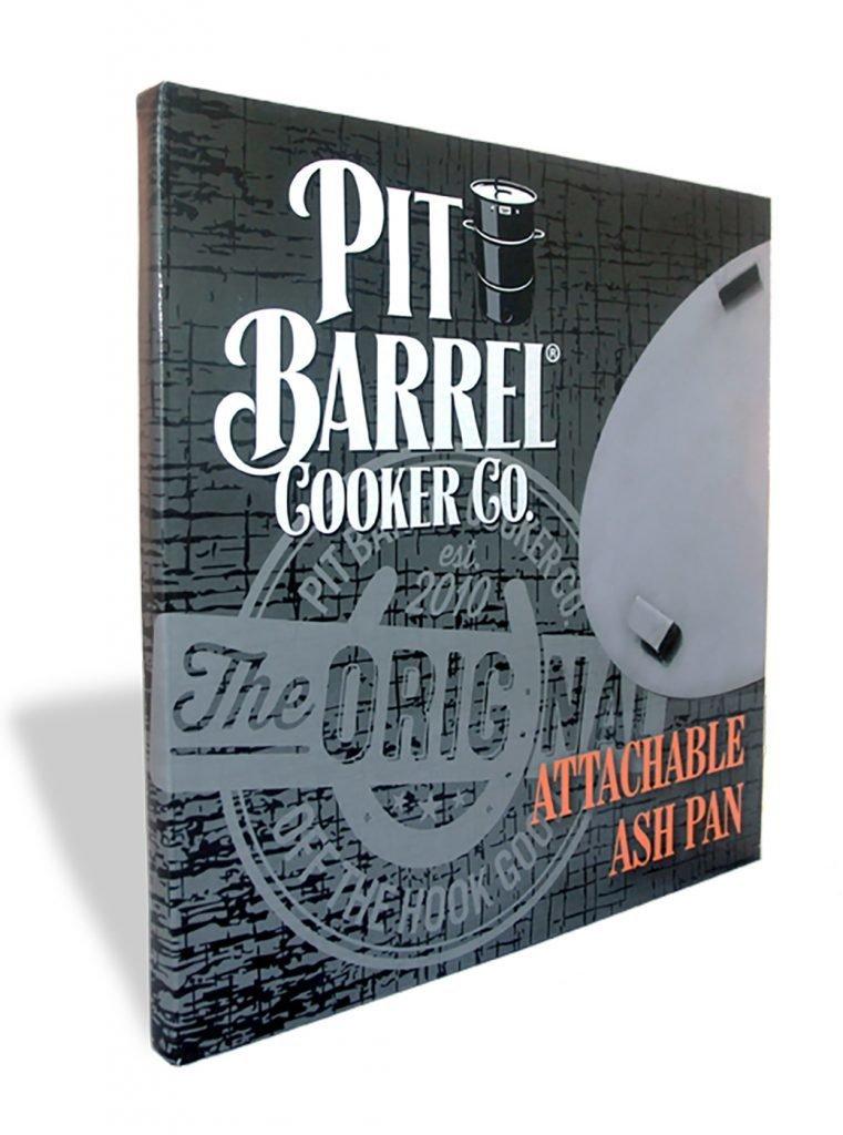 Pit Barrel Cooker-Attachable Ash Pan