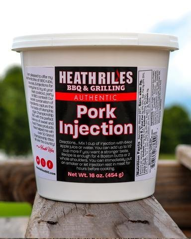 Heath Riles-Pork Injection 0703558836007