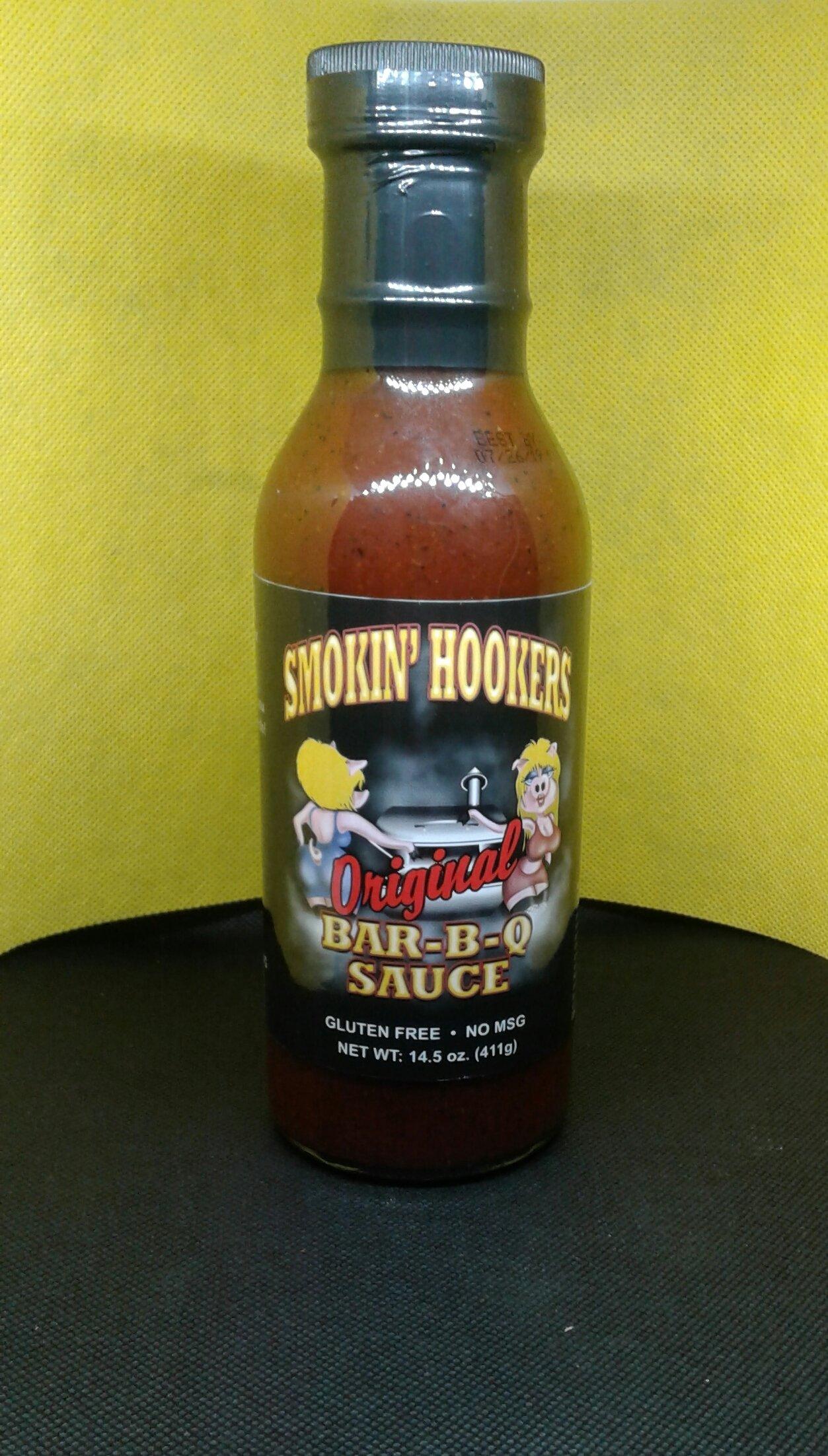 Smokin Hookers- Original Bar-B-Q Sauce 0860000011303
