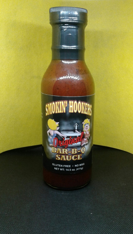 Smokin Hookers- Original Bar-B-Q Sauce