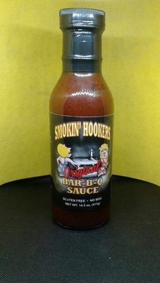 Smokin Hookers- Original Bar-B-Q Sauce