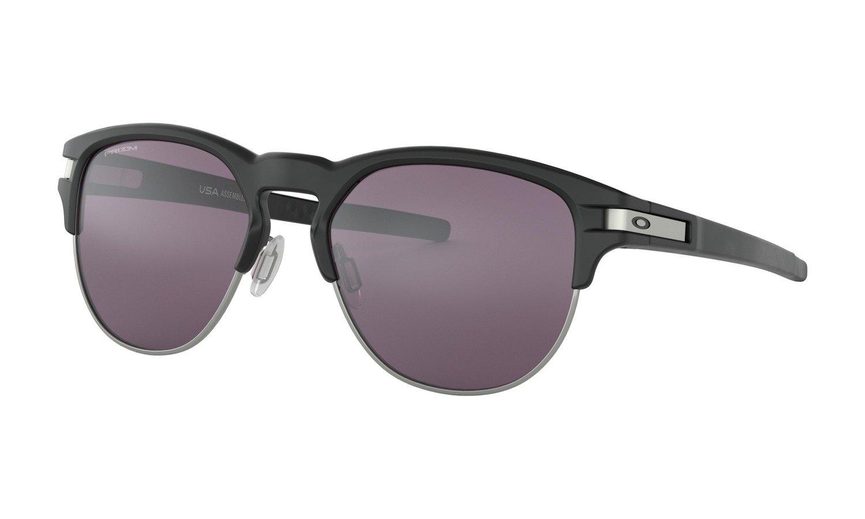 Oakley-Latch Matte Black W/Grey