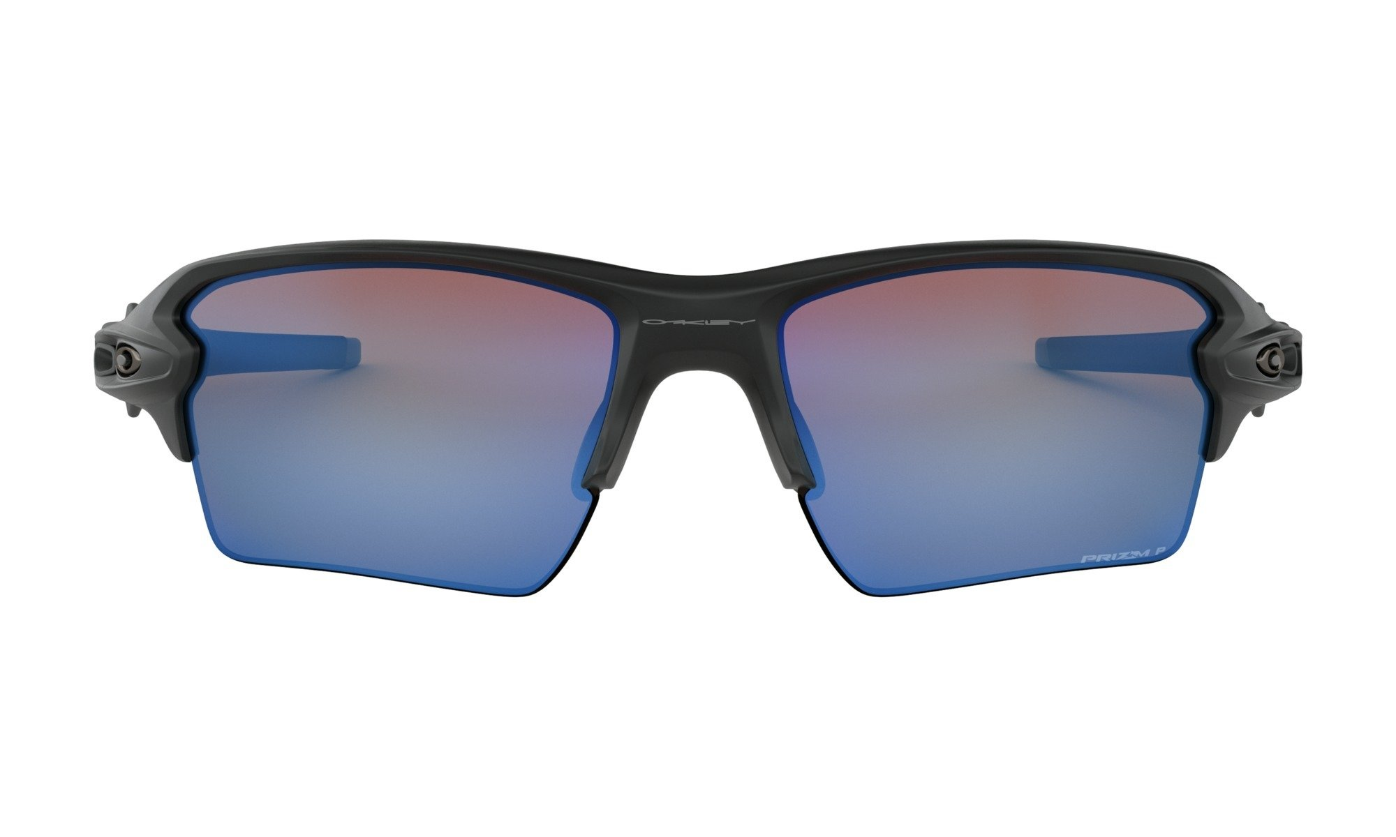 Oakley-Flak 2.0 XL Matte Black with Prizm Deep H20 Polarized