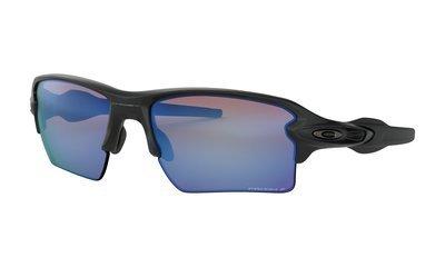 Oakley-Flak 2.0 XL Matte Black with Prizm Deep H20 Polarized
