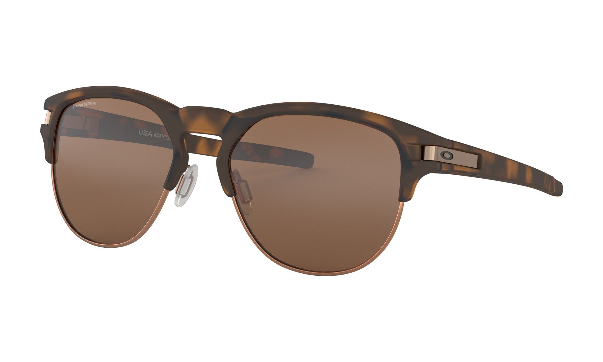 Oakley-Latch Key-Matte Brown Tortise with Prizm Tungsten 0888392332264