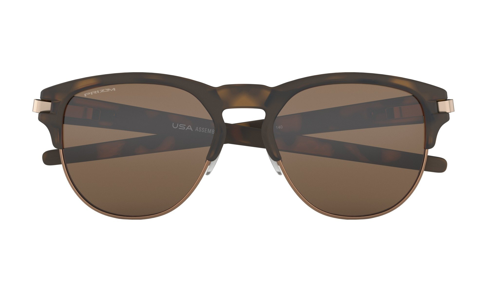 Oakley-Latch Key-Matte Brown Tortise with Prizm Tungsten