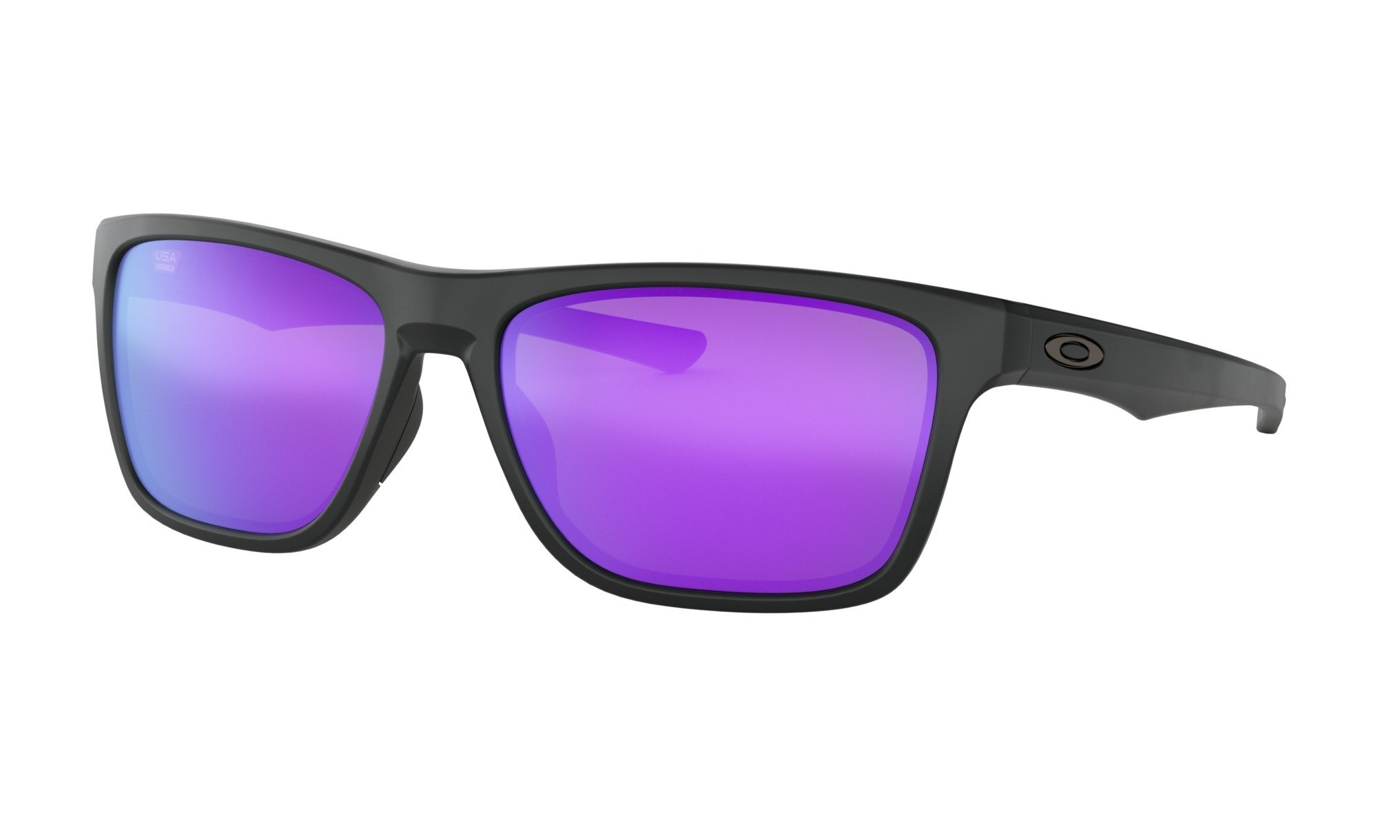 Oakley-Holston Matte Black with violet Iridium 0888392337191