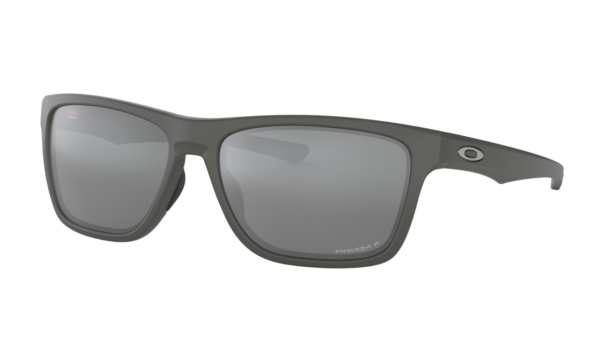 Oakley-Holston Matte Dark Grey with Prizm Black Polarized 0888392337214