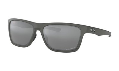 Oakley-Holston Matte Dark Grey with Prizm Black Polarized