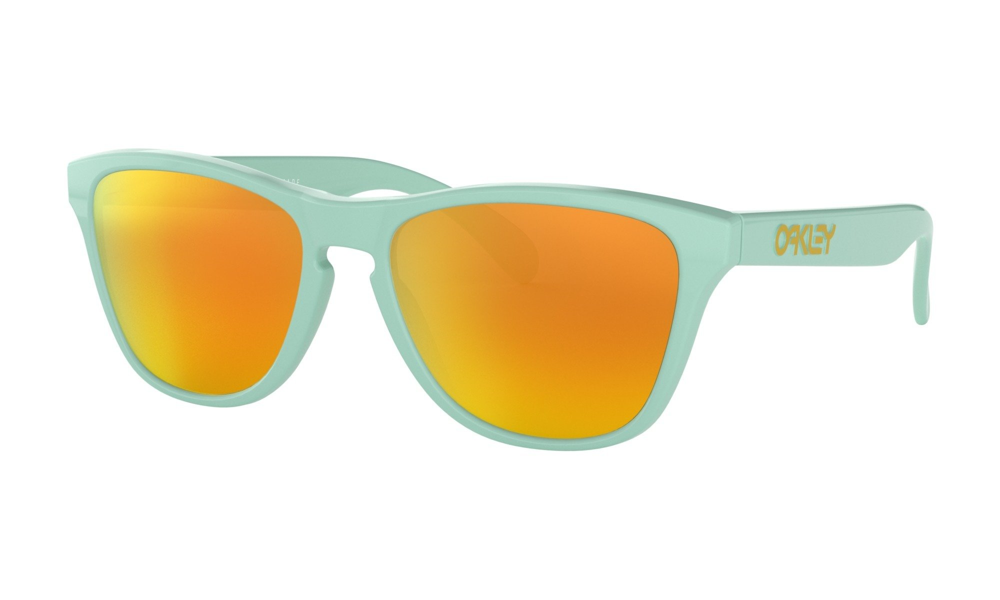 Oakley-Frogskin XS Arctic Surf with Fire Iridium 0888392374042