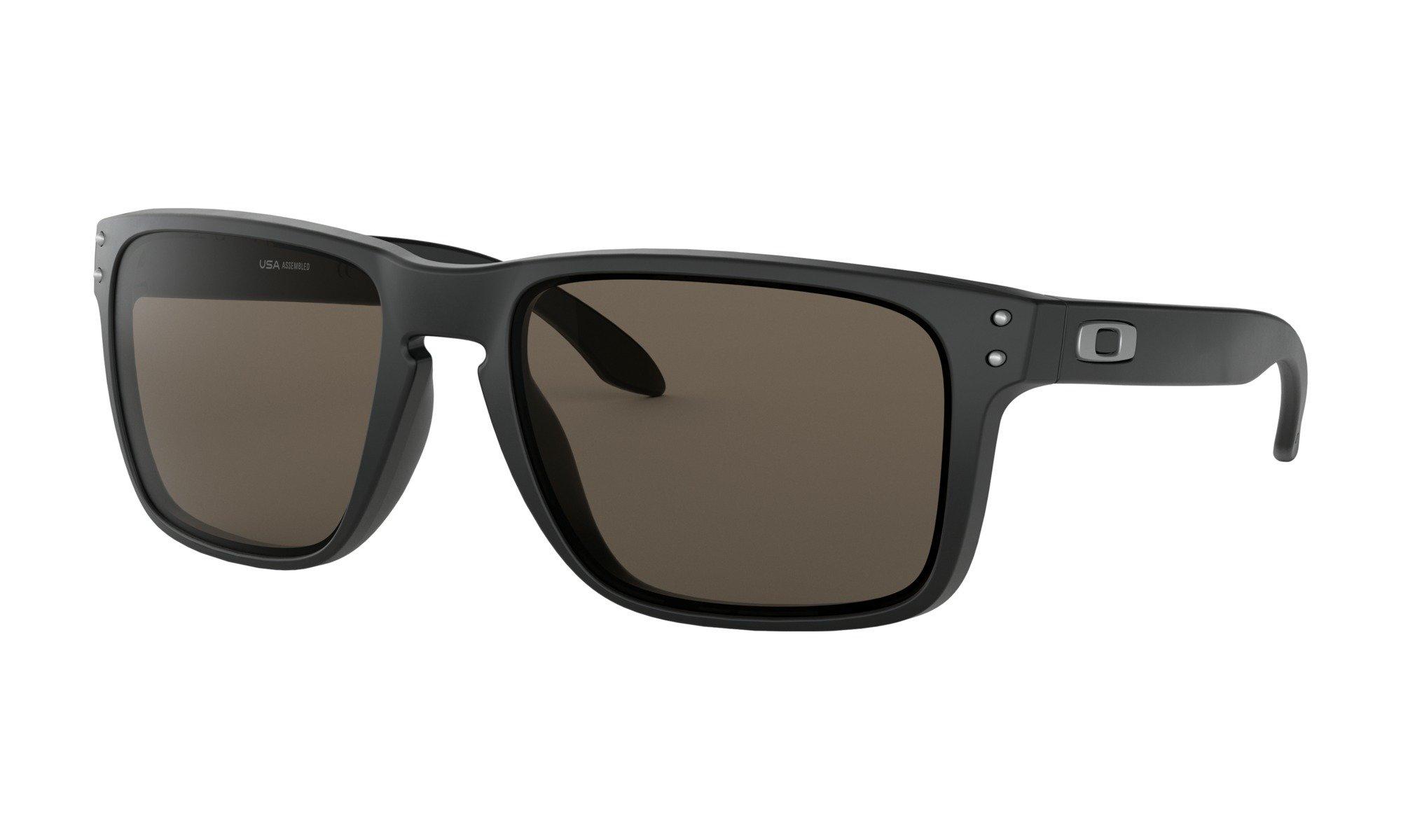Oakley-Holbrook Matte Black with warm grey 0700285385167