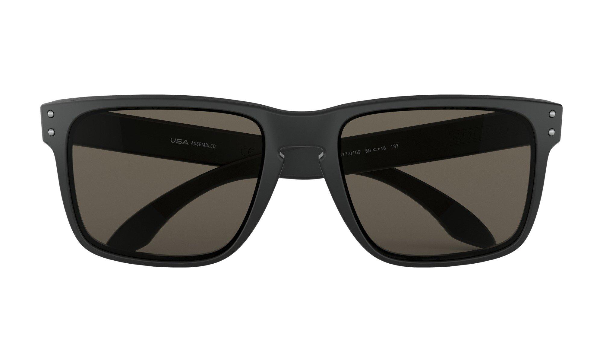 Oakley-Holbrook Matte Black with warm grey