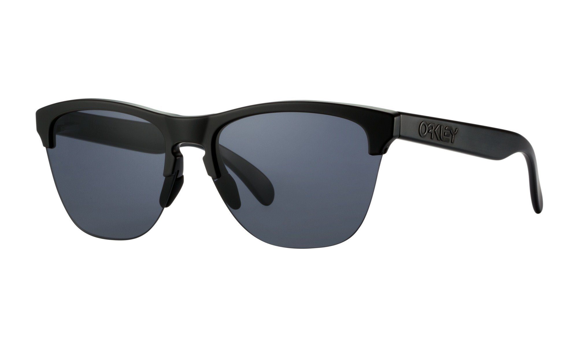 Oakley-Frogskins Lite Matte Black with Grey 0700285551388