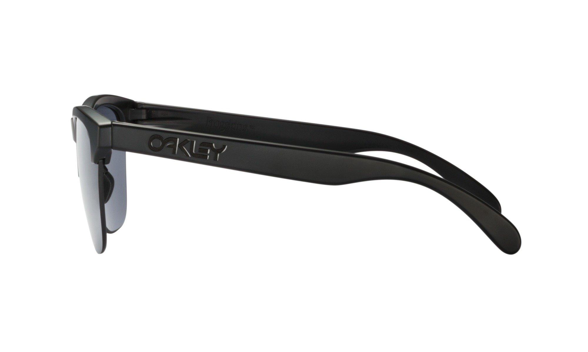 Oakley-Frogskins Lite Matte Black with Grey