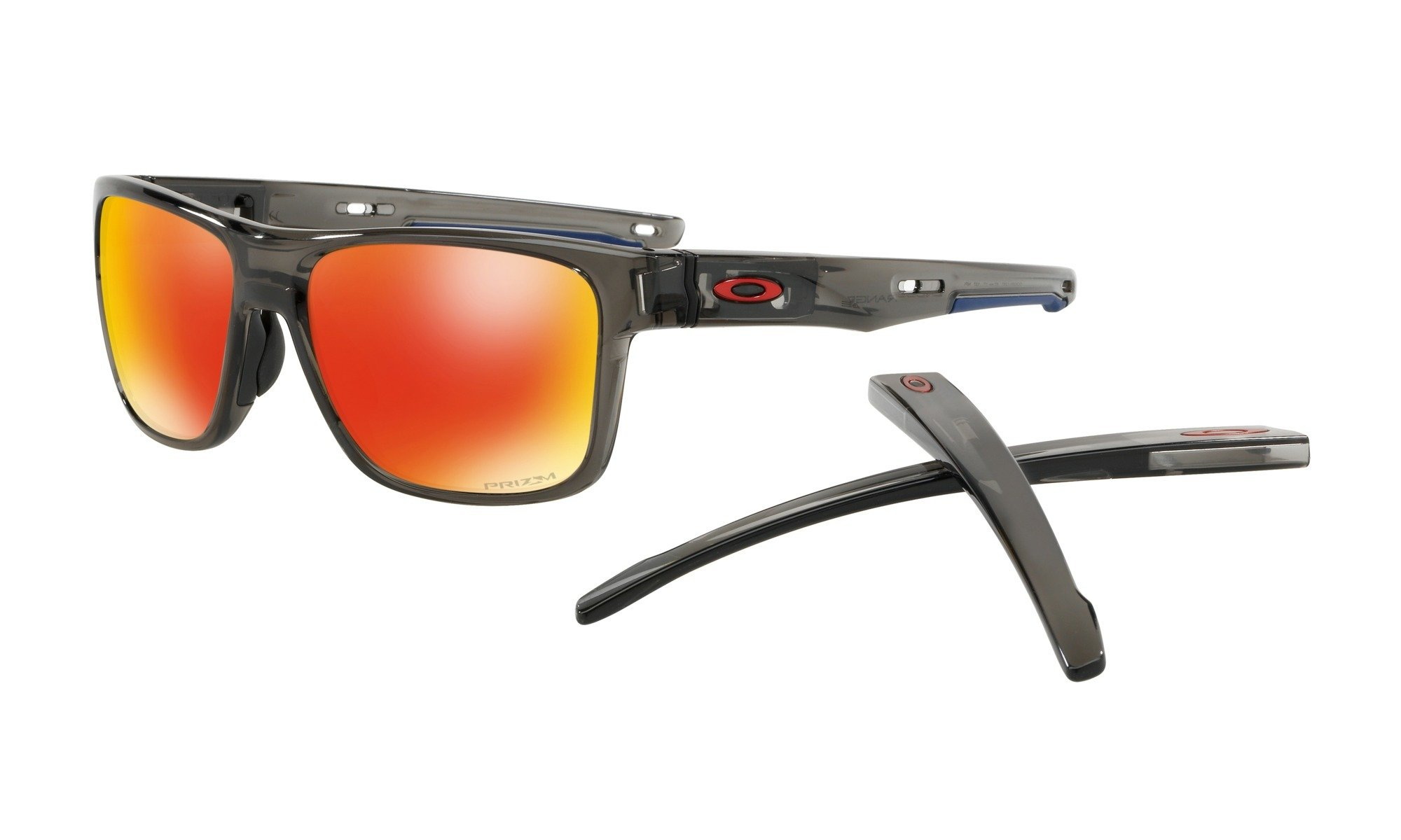 Oakley-Crossrange Grey Smoke W/ Prizm Ruby 0888392320766