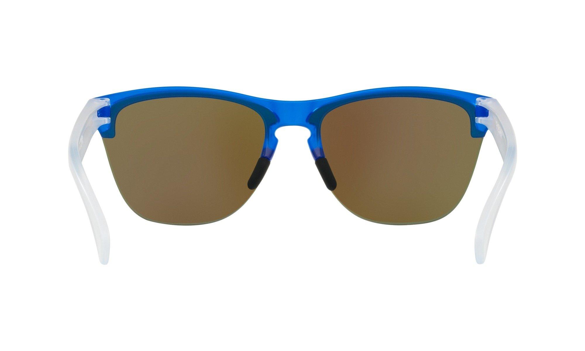 Oakley-Frogskins- Matte Translucent Sapphire with Prizm Sapphire Iridium