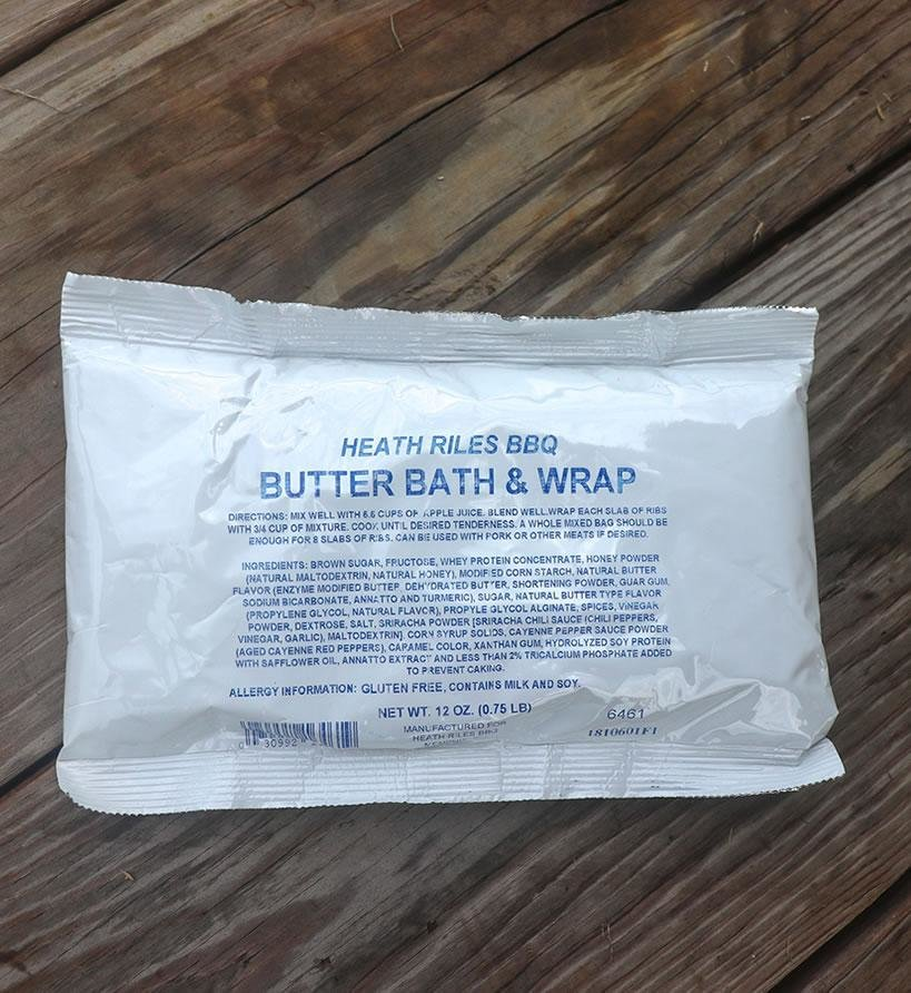 Heath Riles Butter Bath & Wrap 0030992164619