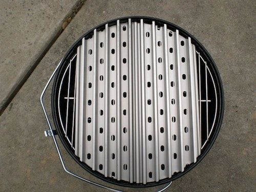 "GrillGrate-14"" Kettle-Two Panel-Small Kamado Set"