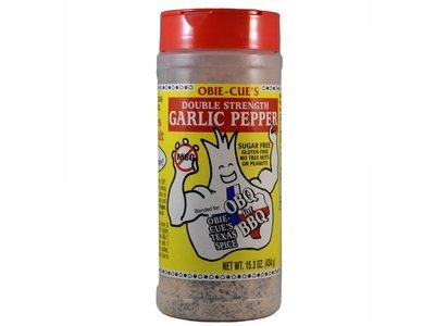 Obie-Cue's Garlic Pepper