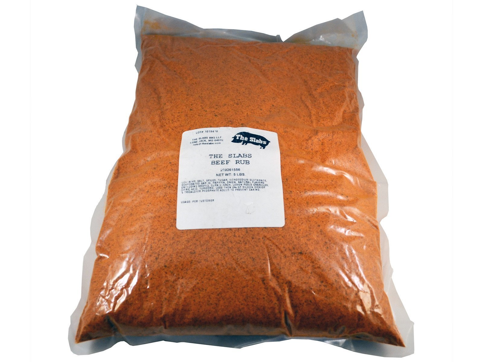 The Slabs Wow Up your Cow Competition Quality Beef Rub, 5lb 0000000018982