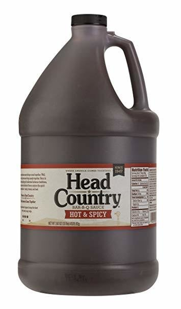 Head Country Hot n Spicy-1 gallon 0028239003289