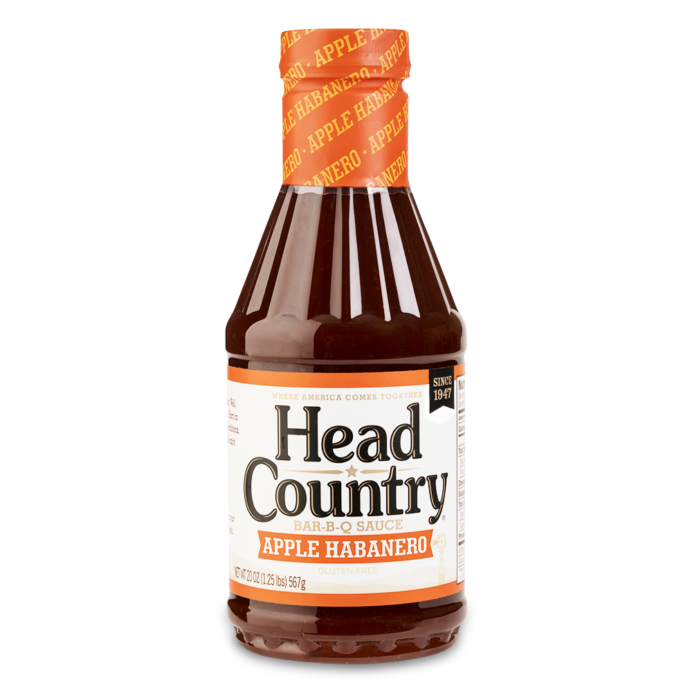 Head Country Apple Habanero- 20oz 0028239004200