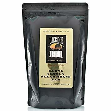 Oakridge BBQ Carne Crosta Steakhouse Rub, 5lb
