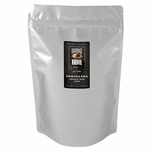Oakridge BBQ Dominator Sweet Rib Rub, 5lb 0091037821843