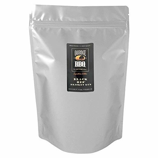 Oakridge BBQ Black OPS Brisket Rub, 5lb 0091037821829