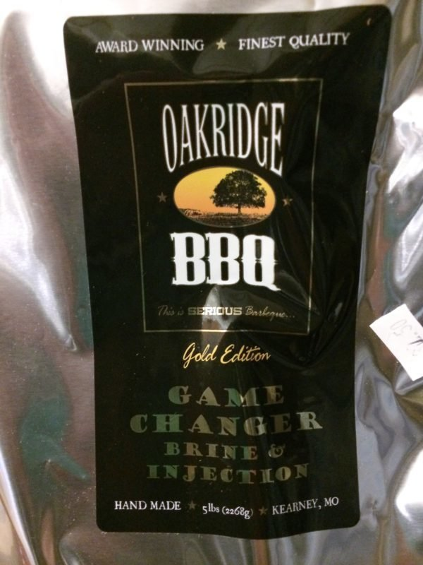 Oakridge BBQ Game Changer® All Purpose Brine, 5 lb