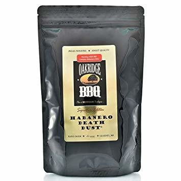 Oakridge BBQ Signature Edition Habanero Death Dust, 1lb