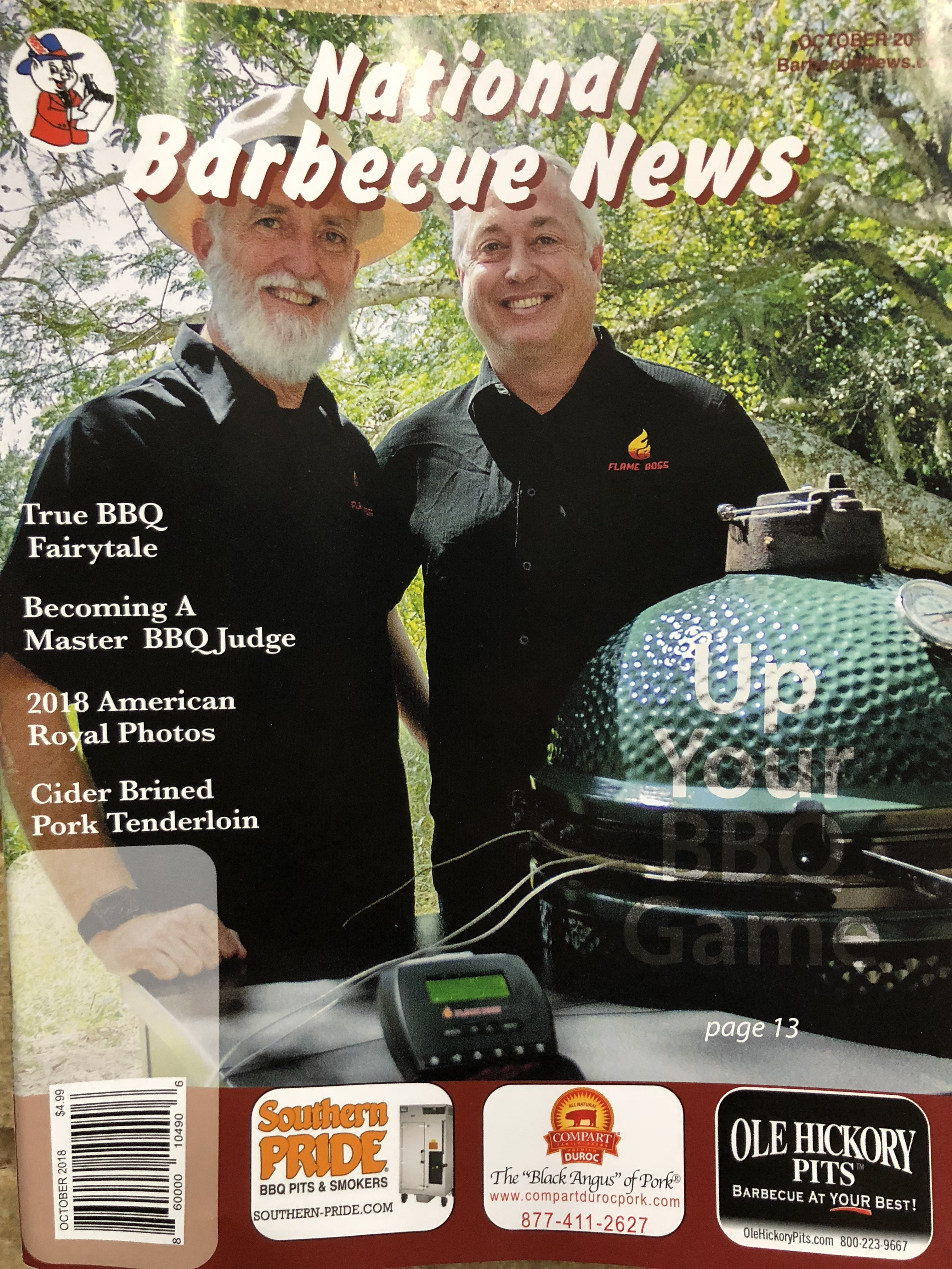 National Barbecue News (October 2018) 860000104906