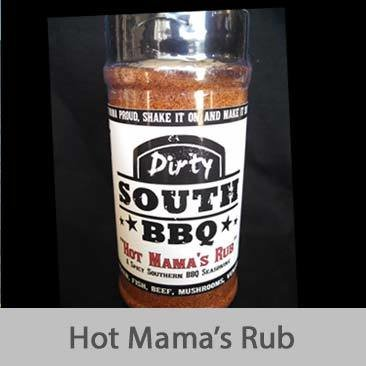 Dirty South BBQ-Hot Mama's Rub
