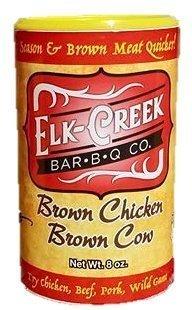 Elk Creek BBQ- Brown Chicken Brown Cow 8 oz 0000000022118