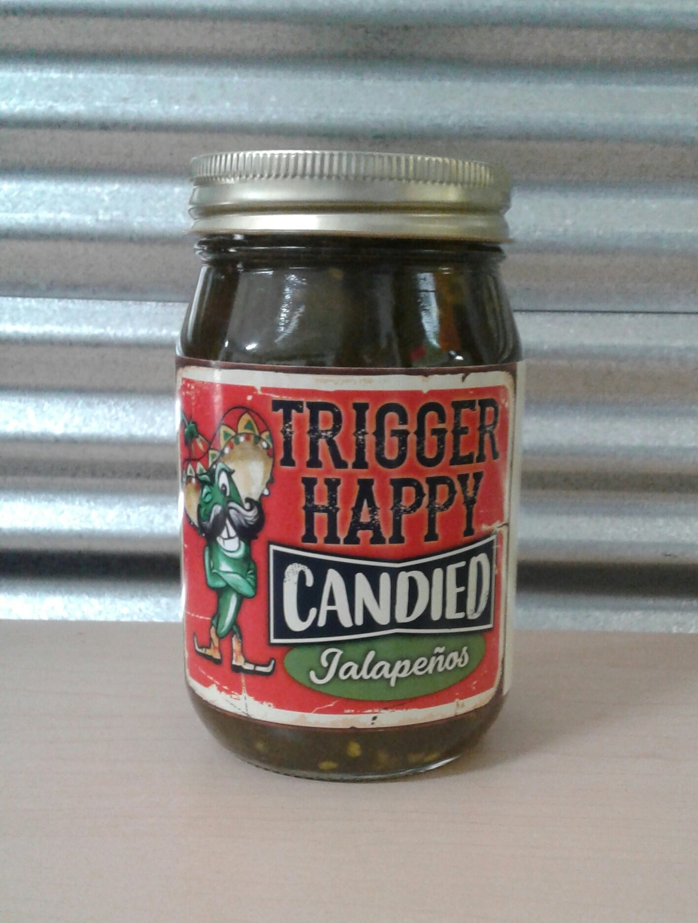 Trigger Happy BBQ- Candied Jalapenos 0000000022279