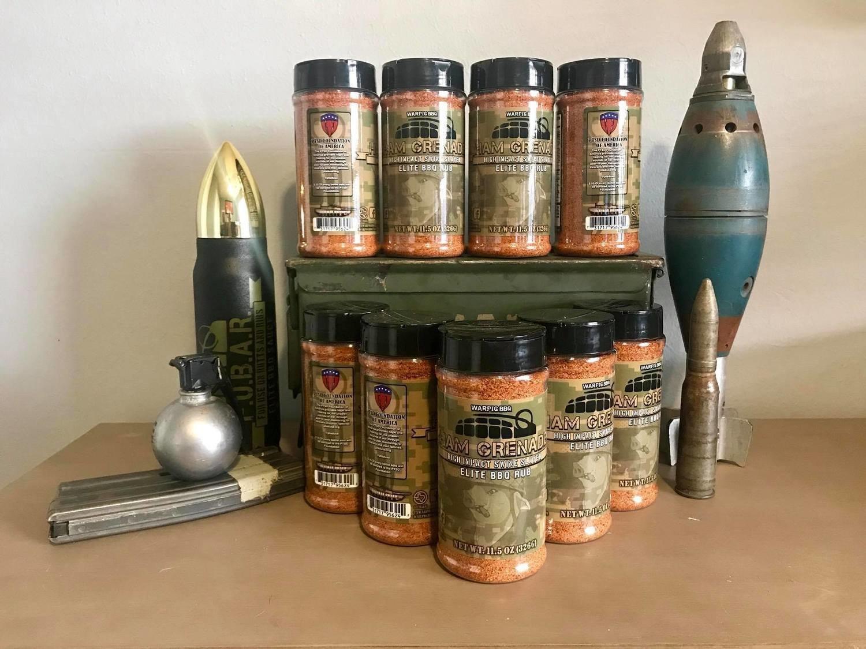 Warpig BBQ - Ham Grenade Elite Rub 0731717956242