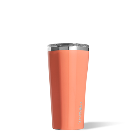 Corkcicle-Tumbler 16oz- Gloss Peach Echo 0852263005939
