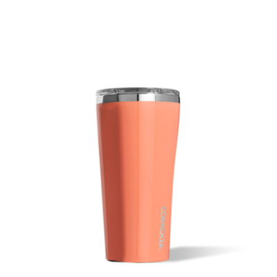 Corkcicle-Tumbler 16oz- Gloss Peach Echo
