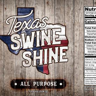 Texas Swine Shine-All-Purpose Rub 0000000022705