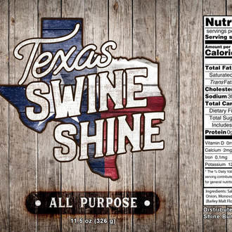 Texas Swine Shine-All-Purpose Rub