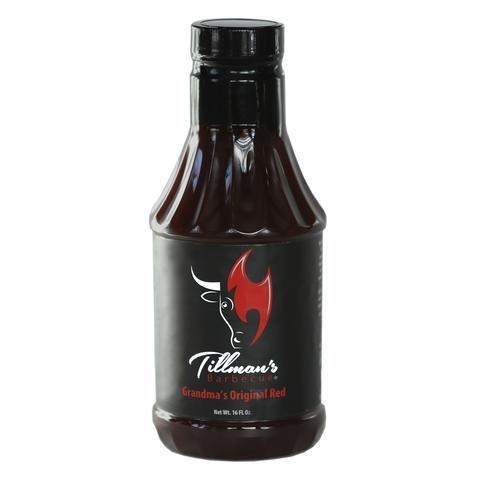 Tillman's BBQ Sauce- Grandma's Original Red Sauce- 21.4oz 0720260430521