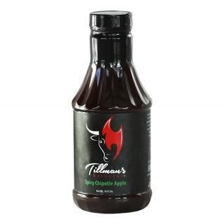 Tillman's BBQ sauce- Chipotle Apple- 21.4oz 0720260430514