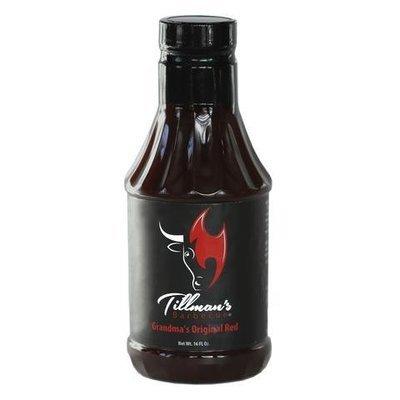 Tillman's BBQ Sauce- Grandma's Original Red Sauce- 21.4oz